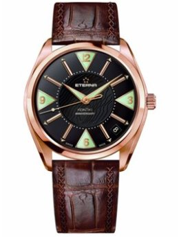 Eterna Mens 1210.69.4.1183 Kontiki Rose Gold Anniversary Watch